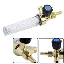 Medidor de flujo de Gas de argón CO2, herramienta de soldadura de blindaje, medidor de flujo de Gas para soldador Mig Tig, medidor de flujo de Argón