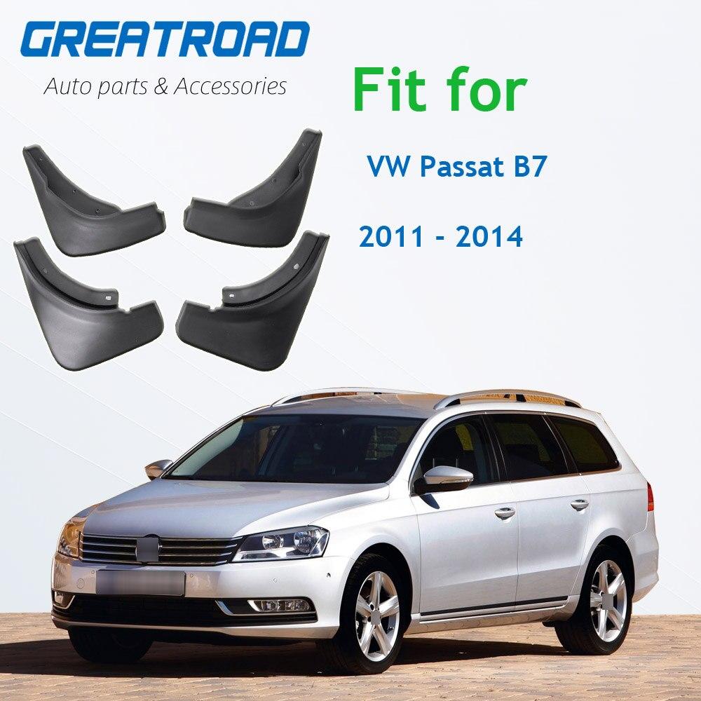 Брызговики для VW Passat B7 2011 2012 2013 2014