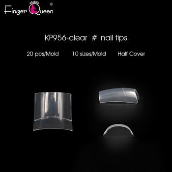 Tipsy sztuczne sztuczne sztuczne paznokcie kwadratowe krótkie sztuczne paznokcie francuskie sztuczne paznokcie w kształcie trumienki Nude tipsy tanie i dobre opinie Fingerqueen Palec NO 0-9Sizes FQ956 Akrylowe 500Pcs Bog Fałsz paznokci Pełna tipsy nail tips 500 pcs french tip Acrylic