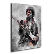 1P Jimi Hendrix Wall Art Canvas Decoration Print Art Singer Poster Home Decoration Painting