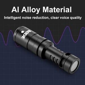 Image 5 - Оригинальный Встроенный микрофон Rode VideoMicro, микрофон для записи голоса и интервью для смартфонов Canon, Nikon, Sony