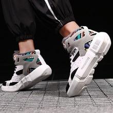 Tuinanle Hoge Top Sneakers Warm Winter Pluche Vrouwen Schoenen Graffiti Platform Sneakers Wit Lover Schoenen Maat 11 Zapatos De Mujer