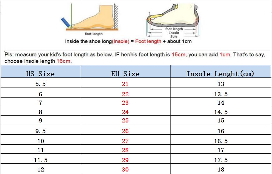 Autumn Kids Sport Shoes Boys Girl Sneakers Baby Children Shoes Fashion White Flat Sport Breathable Toddler Casual Student Shoes 6