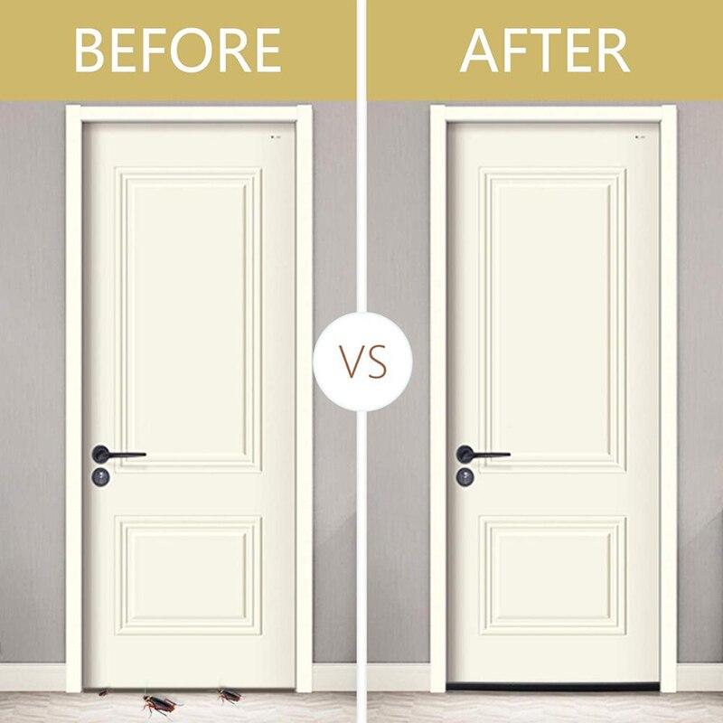 Home 93cm Under Door Draft Guard Stopper Soundproof Reduce Noise Door Bottom Sealing Weather Strip Under Door Draft Guard 2021-2