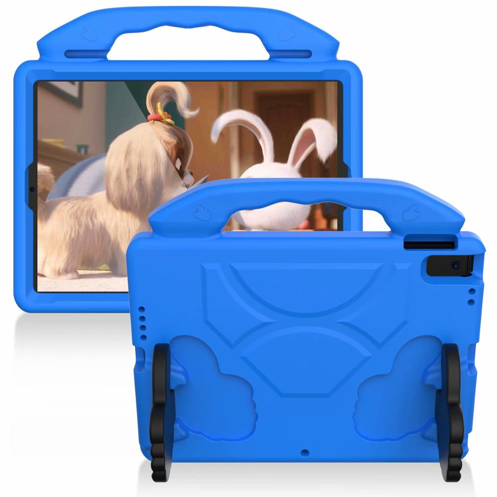 blue Blue Thumb Kids Friendly Safety Cover For iPad 10 2 2019 7th Generation A2200 A2198 A2232 Case