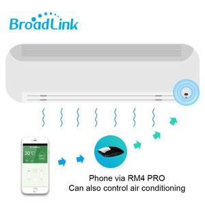 Image 4 - Broadlink RM4 Pro Mini inteligentna automatyka domowa WIFI + IR + RF uniwersalny inteligentny pilot działa z Alexa Google Home inteligentnego domu