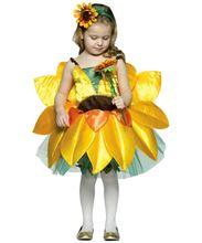 Маскарадный костюм для девочек; Детская одежда с цветочным принтом