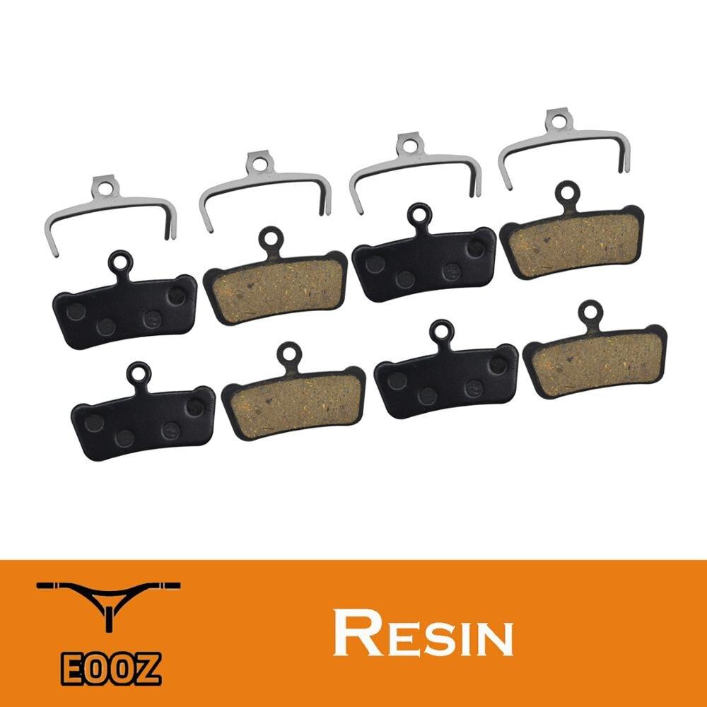 4 пары полуметаллических велосипедных дисковых тормозных колодок для SRAM Guide RSC/RS/R Avid XO E7 E9 Trail 4 Pistion полимерная колодка для гидравлического то...