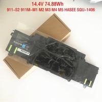 14.4V 74.88Wh Genuine SQU 1406 Laptop Battery for ThundeRobot 911 E1 911 S1 911 T1 911 T2 911GT 911 S2 911M M1 M2 M3 M4 M5 HASEE
