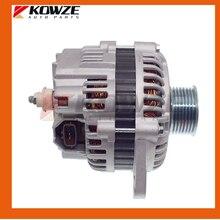 Alternatore 125A 4 PINS per Mitsubishi Pajero Montero 3 III 6G72 6G74 6G75 2000 2006 V75 V75 MD370479