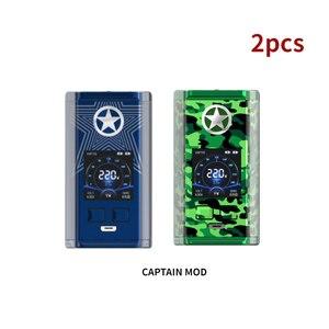 Image 2 - Vaptio Captain vape Kit avec 220W MOD 2.0AtomizerTop remplissage avec Cigarette électronique équipé 510 réservoir de fil