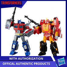 Hasbro Transformers Power of the Primes Series Leader Ast 8.75Inch Optimus Prime And 9.75Inch Rodimus Unicronus