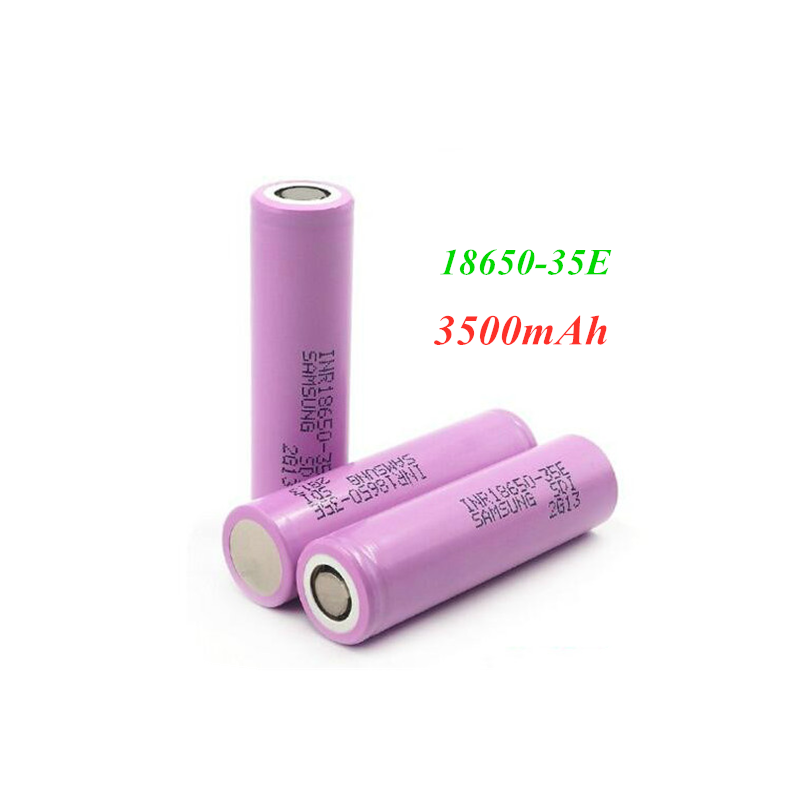 2~20 PCS original <font><b>18650</b></font> power lithium battery 3500mAh 3.7v 25A high power <font><b>INR18650</b></font> <font><b>35E</b></font> Adapter for power tools image