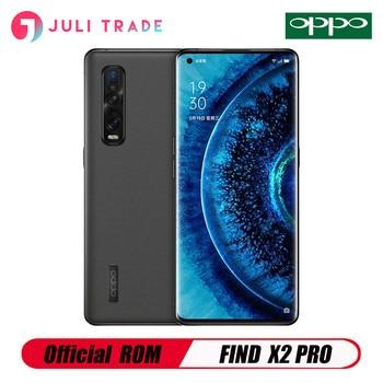 OPPO encuentra X2 PRO 5G teléfono móvil Snapdragon 865 a 120HZ pantalla 65W SuperVOOC 2,0 12GB de RAM 256GB ROM UFS 3,0 teléfono Android