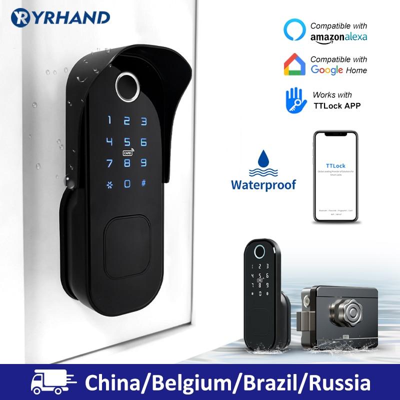 Tt Lock Code-Battery Smart-Card Wifi Fingerprint Digital Bluetooth Electronic Keyless