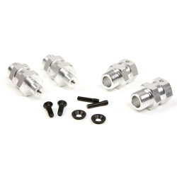 Quick Release & Hard Upgrade Hex Hub Extended Axle Fit for 1/5 HPI ROFUN ROVAN KM BAJA 5B Parts