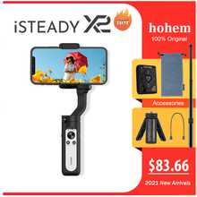 hohem iSteady X2 Mobile Phone 3-Axis Gimbal Stabilizer Shooting Live Broadcast Smart Anti-shake Stabilizer with Remote Control