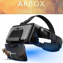Наушники виртуальной реальности, 3D очки виртуальной реальности, картонные наушники виртуальной реальности для телефона 4,7-6,3 дюймов