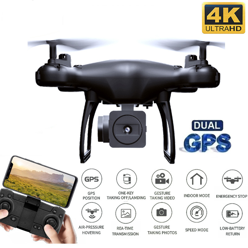 Best Drone with Dual GPS 4K   1080P WiFi FPV 50x zoom Aerial Video Wide Angle Optical Flow Professional RC Quadcopter Helicopter