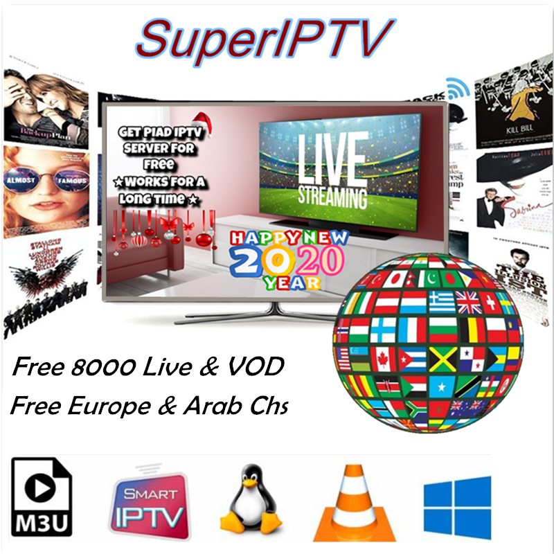 Arabic 1 Year Iptv Subscription HD Channel For Europe Nederlands Spain Belgium Canada French Ex Yu Android M3u Smart Iptv España