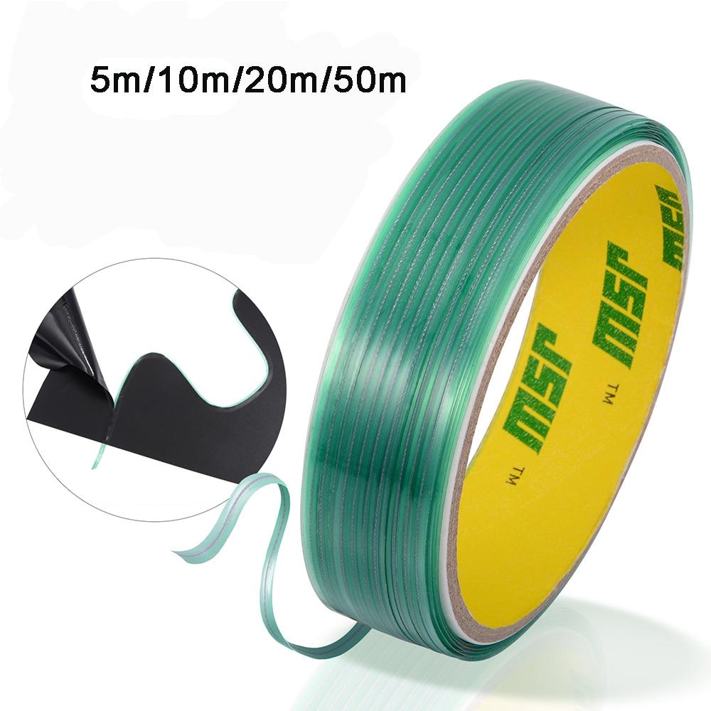 FOSHIO Car Wrap Vinyl Film Knifeless Tape Design Line Carbon Fiber Sticker Cutting Tape Like Cutter Styling Tool Car Accessories