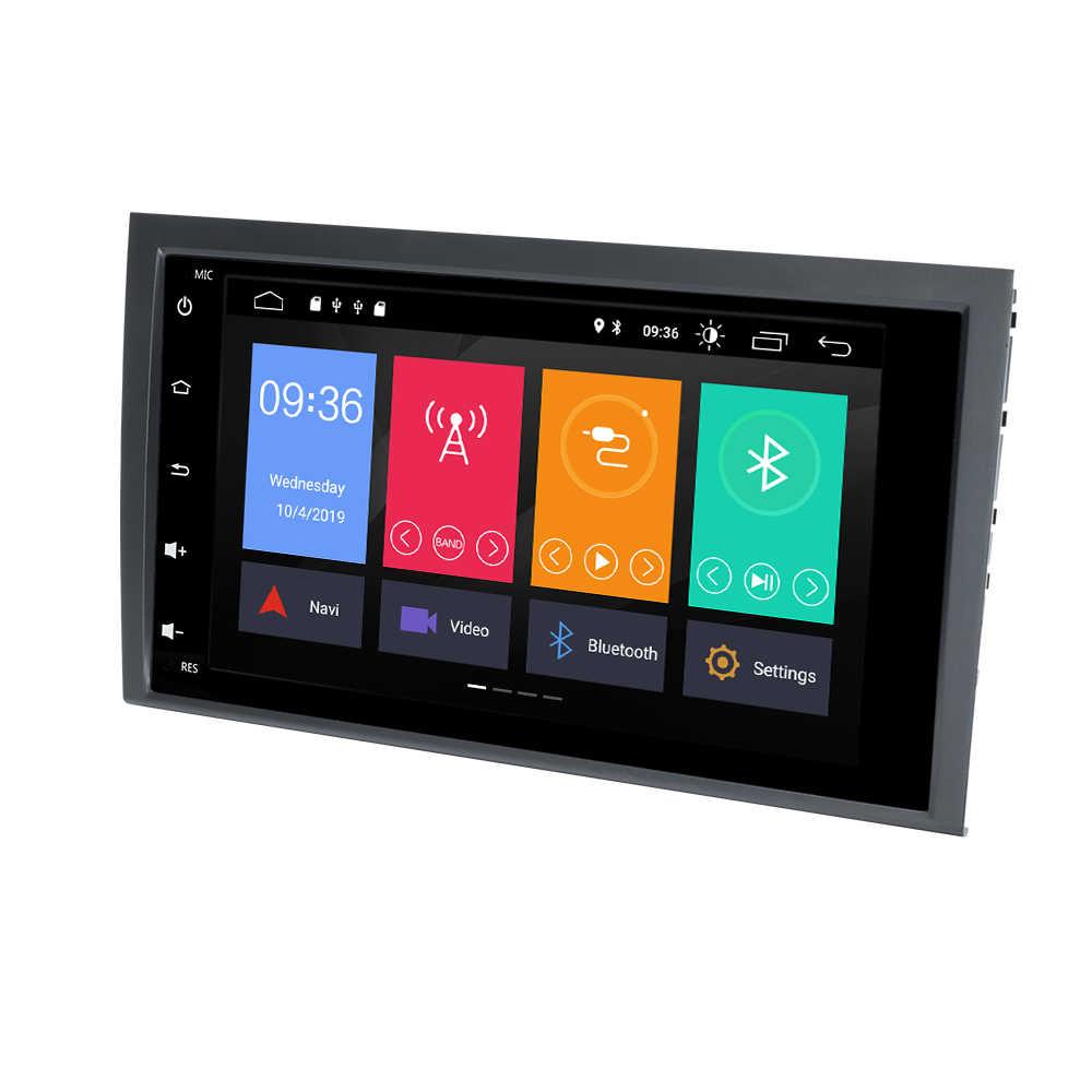 新しい Android 10 用アウディ A4 B6 B7 S4 B7 B6 RS4 B7 シート Exeo 2002- 2008 GPS ナビゲーション Swc ステレオ BT OBD2 カメラ