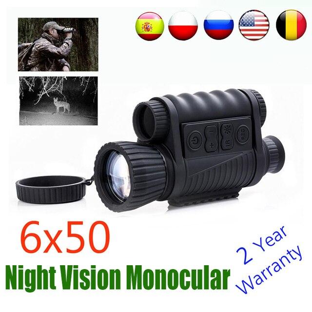 WG650 Night Vision Monocular  Night Hunting Scope Sight Riflescope Night Vision Telescope Optical Night Sight Free Ship