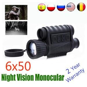 Image 1 - WG650 Visione notturna di Visione Monoculare di Caccia Scope Sight Cannocchiale di Visione Notturna del Telescopio Ottico di Notte Vista Libera La Nave