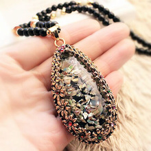 Choi bei opal long sweater chain deserve to act the role of restoring ancient ways hang decorations