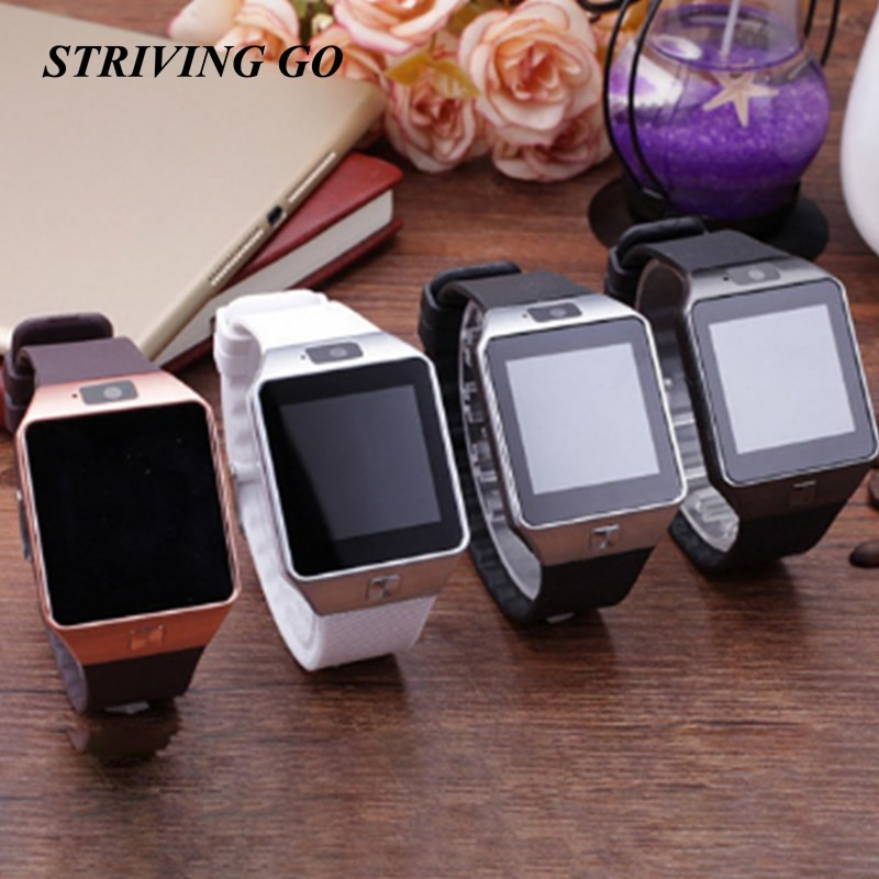 2020 DZ09 Bluetooth Touch Screen Smart Watch With Camera Bluetooth WristWatch For IOS Android Phone PK Smartwatch U8 A1 Q18 T8