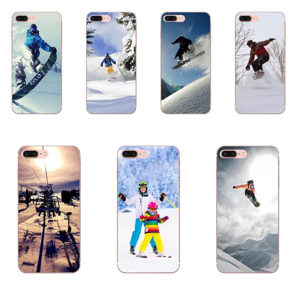 Snow Or Die Ski Snowboard Sport Print For Samsung Galaxy A10 A20 A30 30S A40 A50 A50S A60 A70 A70S A80 A20E A51 A71 A9 2018
