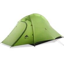 3Ф ул шестерни ZhengTu 2 15д с покрытием кремния сверхлегкий палатка 3 сезона или 4 Открытый анти-ветер для человека