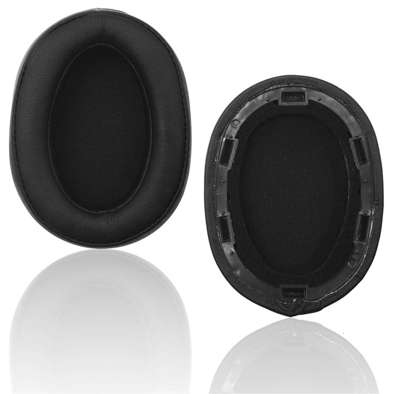 High Quality Earpads For <font><b>Sony</b></font> <font><b>MDR</b></font>-<font><b>100ABN</b></font> WI-H900N Headphone Ear Pads Memory Foam Protein Leather For Extra Comfort Earmuffs Ew# image