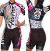 Roupa de ciclismo feminina manga curta, equipamento de equipe corporal sexy de tri skinsuit, roupas de ciclismo personalizadas, triathlon, 2020 16