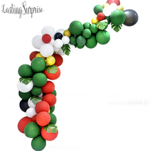 цена на Merry Christmas Balloon Arch Strip Balloons Garlands Decorative Birthday Wedding Event Halloween Christmas Decorations New Year