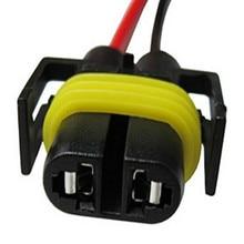 Socket Connector-Plug Car-Led-Xenon Wire-Harness Car-Headlight H27-Adapter 2x-H27 Bulb