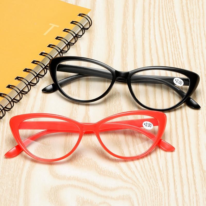 Classic Cat Eye Reading Glasses Women Men Hyperopia Computer Eyeglasses Presbyopia Diopter Eyewear +1.0+1.5+2.0+2.5+3.0+3.5+4.0