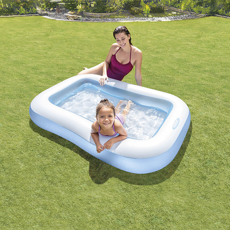 Genuine Product Intex57403 Swimming Pool Rectangular Children Paddling Pool Oceans Ball Pool Infant Sand Pit