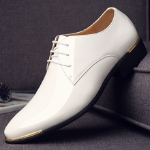 men's business casual shoes shiny leather 1875