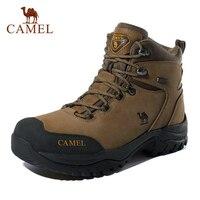 CAMEL Men Women High Top Hiking Shoes 2019 Durable Waterproof Anti Slip Outdoor Climbing Trekking Shoes Military Tactical Boots