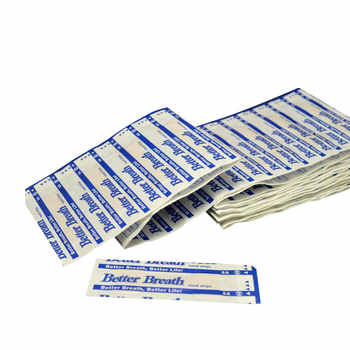 200 pcs Anti Snoring Nasal Patch Better Breathe Good Sleeping Nasal Strips Stop Snoring Strips Easier Health Care Patch Product