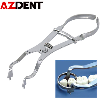 Azdent Dedicated pliers for dental watercress forming pieces Russian Douban forming piece placement pliers Douban forming piece фото