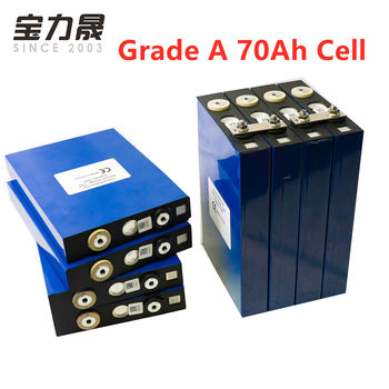 8PCS 3.2V 70Ah CALB lifepo4 battery 2020 NEW Grade A Lithium Iron Phosphate solar 48V 60V 24V L135F68 cells not 80AH 100Ah image