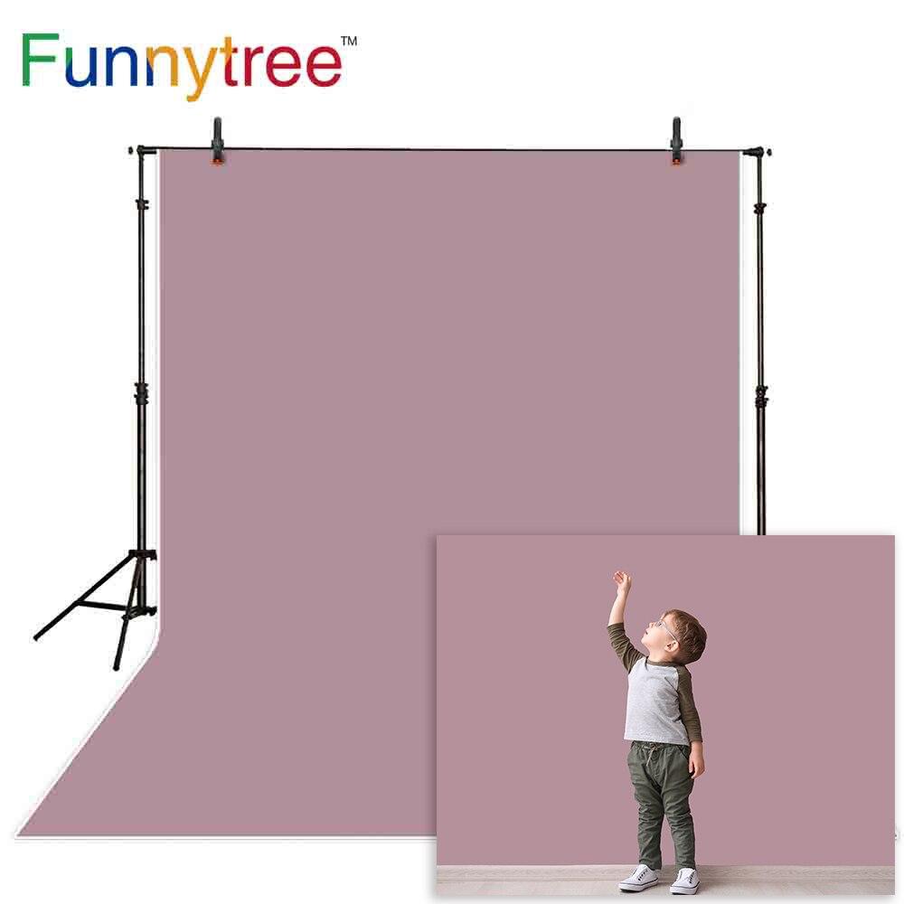 Funnytree фотография фотобудка фиолетовый серый однотонный Детский Рождественский фон украшение студия фотосессия Фотофон