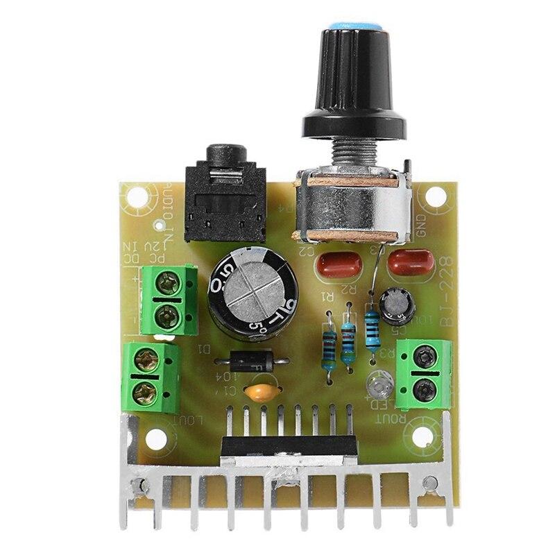 TDA7297 Digital Version Power Amplifier Board 2.0 Channel Stereo Double 12V AC / DC Mini Board Module TE 434