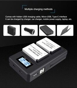 Image 3 - PALO 2Pc LPE17 LP E17 LP E17 Batterie + LCD USB Double Chargeur pour appareil photo Canon EOS 200D M3 M6 750D 760D T6i T6s 800D 8000D Baiser X8i Caméras