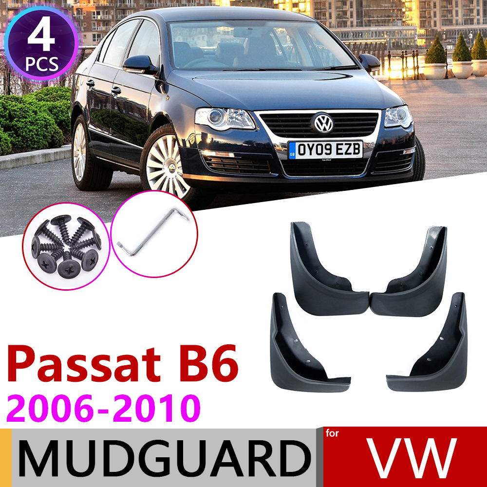 For VW Volkswagen Passat B6 3C 2006 2007 2008 2009 2010 Fender Mudguard Mud Flaps Guard Splash Flap Mudguards Car Accessories