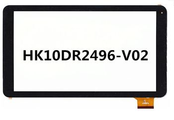 """10.1 """"calowy Mediacom M-MP1051S2 pojemnościowy ekran dotykowy zestaw paneli szkło Digitizer czujnik HK10DR2496-V02"""