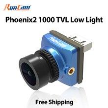 RunCam Phoenix 2 Freestyle 1000TVL COMS 2,1 мм 155 ° 4:3/16:9 PAL/NTSC переключаемая FPV камера дрона для квадрокоптера Phoenix2 Nano