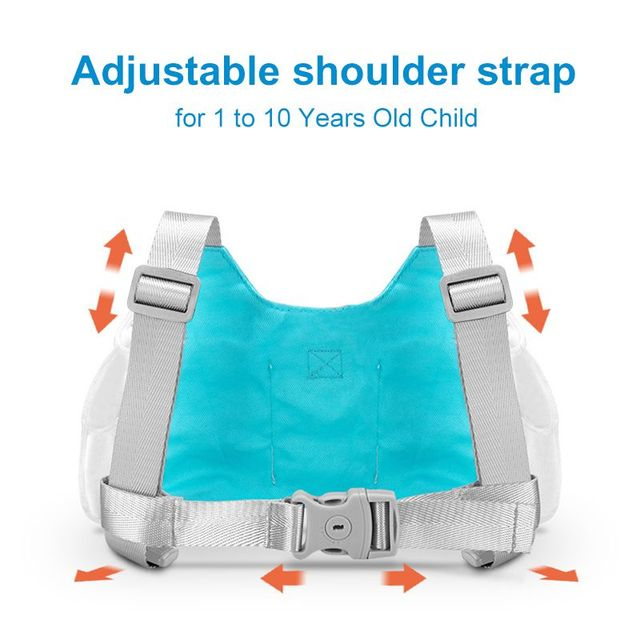1.5-2.5m Adjustable Kids Safety Harness Children Leash Anti-lost Wrist Link Wrist Strap Traction Rope Band Baby Walker Wristband 4